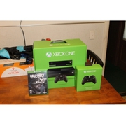 Microsoft Xbox One (Latest Model)- 500 GB Black Console and accessorie