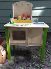 Kids wooden Kitchen set