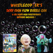 Bubble Gun Dory Light Up LED,  Even Flow,  High Performance Batteries $4
